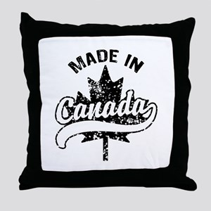 Made In Canada Throw Pillow